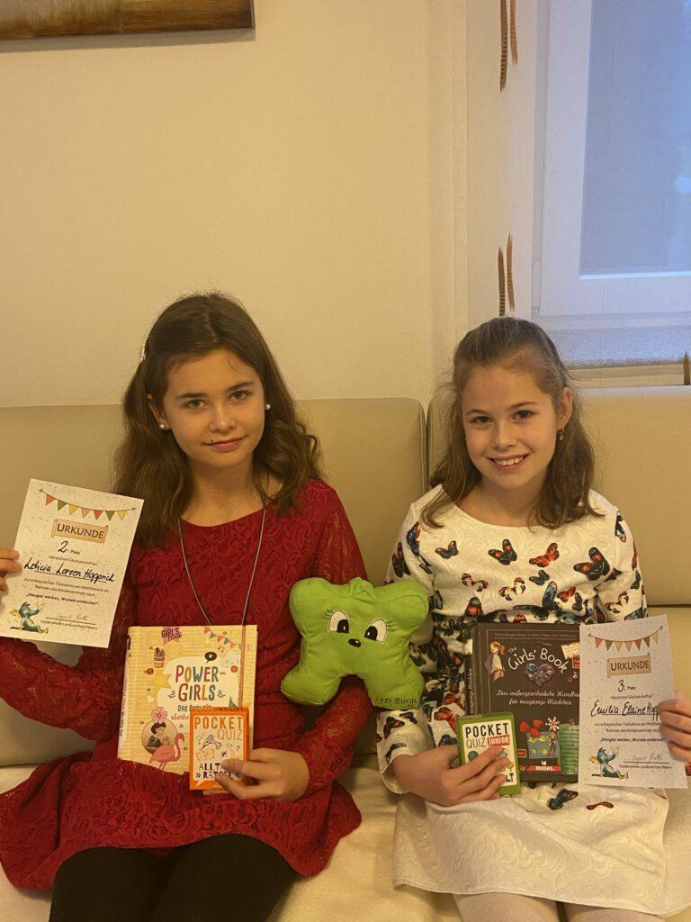 Letizia und Emilia Hopprich, Foto Bettina Hopprich